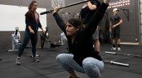 Camille Leblanc-Bazinet Trains Red Bull Crashed Ice Athletes