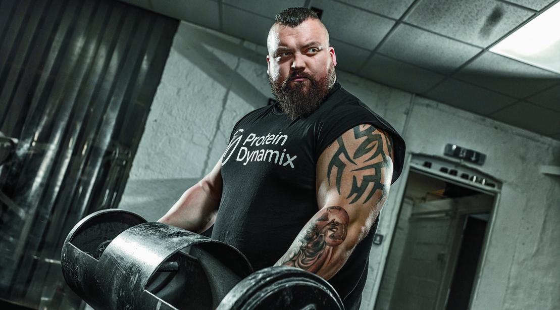 Eddie muscle Enraged bodybuilder