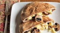 Egg and Mushroom Pita Recipe
