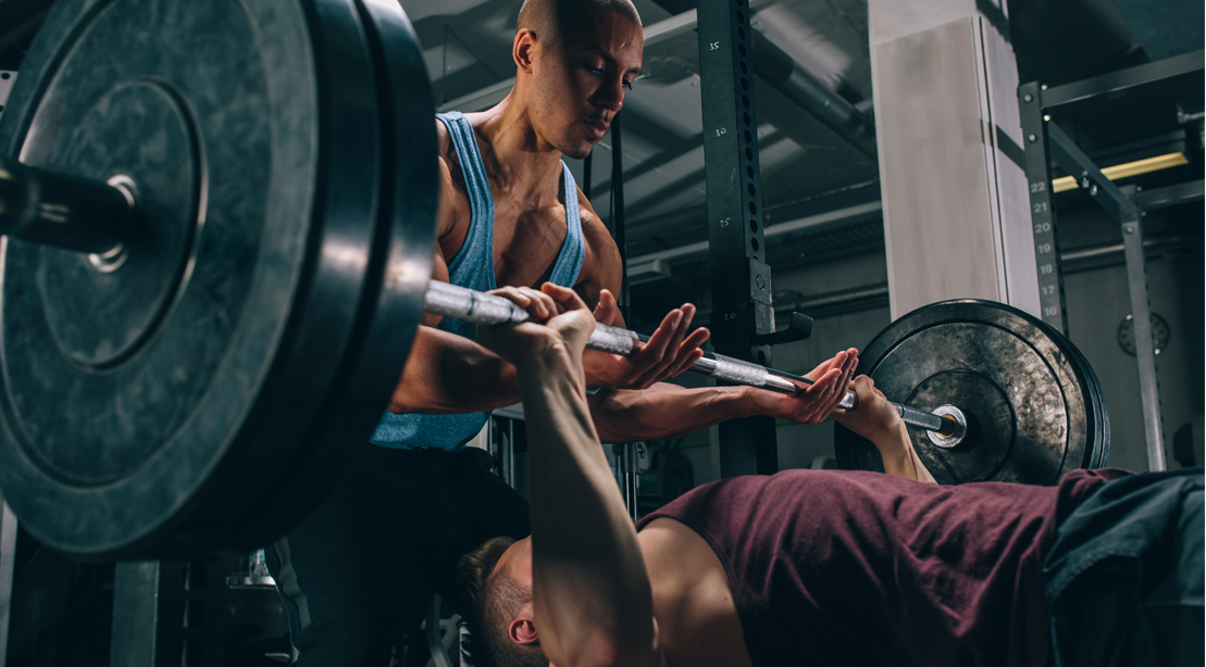 The Sling Shot Bench Press Plan   Muscle & Fitness