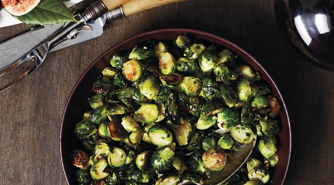 Savory Brussels Sprouts With Gremolata
