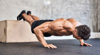 Feet Elevated Pushup