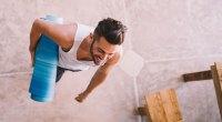Man with Yoga Mat