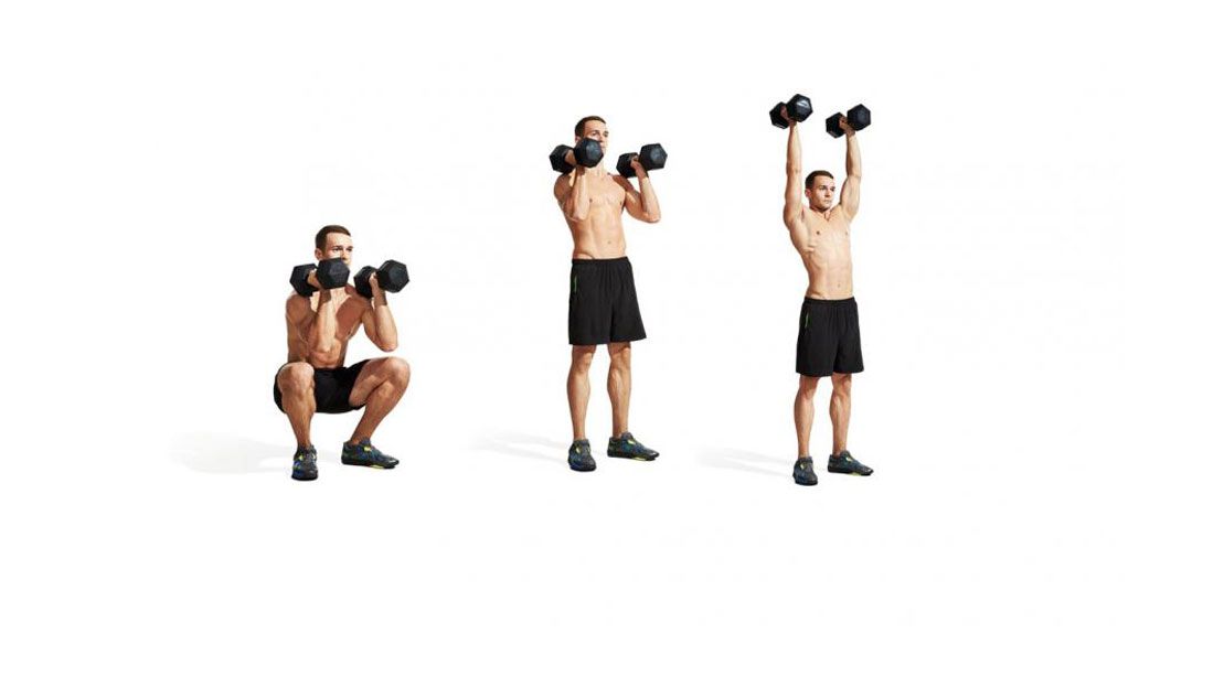Front Squat to Overhead Press