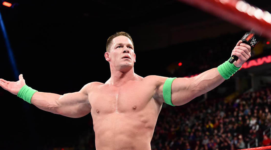 John Cena on 'Monday Night RAW'