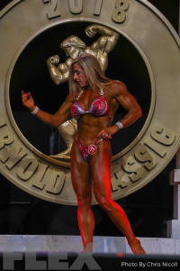 Leah Sohn - Women's Physique - 2018 Arnold Classic