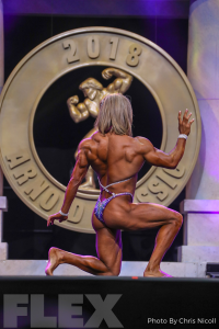 Michaela Aycock - Women's Physique - 2018 Arnold Classic