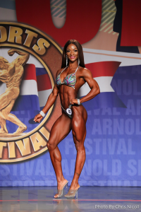 Candice Lewis-Carter - Figure - 2018 Arnold Classic