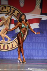 Laurelle Martineau - Figure - 2018 Arnold Classic