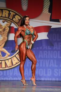 Jessica Reyes Padilla - Figure - 2018 Arnold Classic