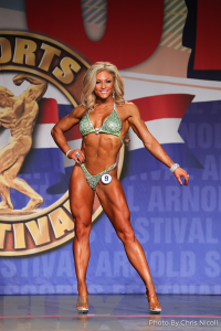 Tiffany Chandler - Fitness - 2018 Arnold Classic