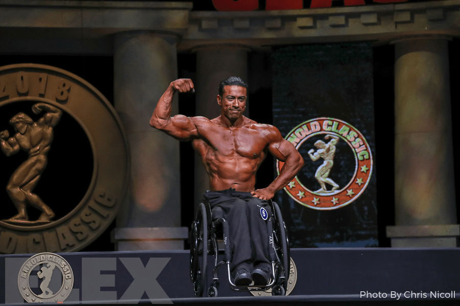 Antoni Khadraoui - Wheelchair - 2018 Arnold Classic