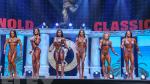 Figure Final Comparison & Awards - 2018 Arnold Classic