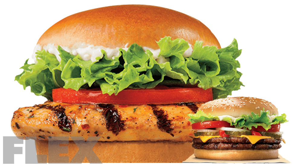 Fast Food Shakedown Burger King Muscle Fitness