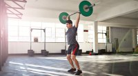 Barbell Clean and Push Press