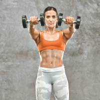 Dumbbell Front to Lateral Raise
