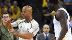 NBA referee Marc Davis