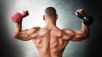 Muscular Man Flexing