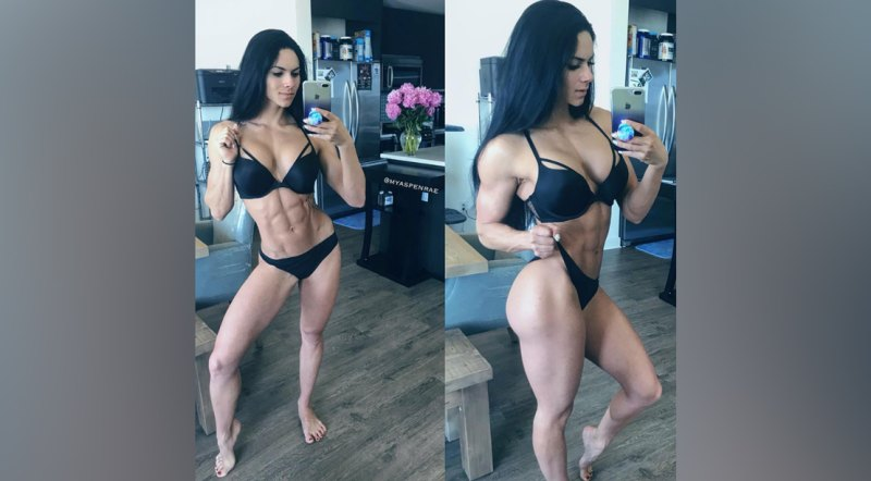 Female fitness models ripped 18 of