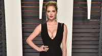 Kate Upton Attends the 2016 Vanity Fair Oscar Party