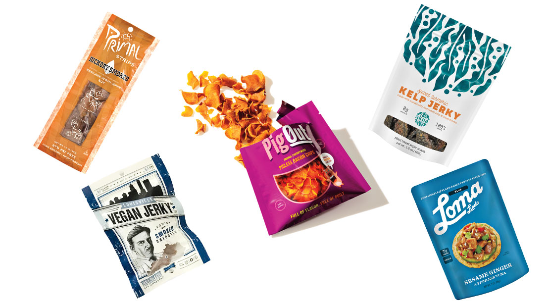 5 Vegan Snacks That You'd Think Were Actual Meat