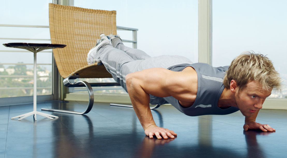 Home Work: No-Equipment Home Workout | Muscle & Fitness