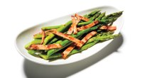Recipe: How To Make Steamed Asparagus With Bacon