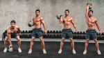 Kettlebell Clean and Press Exercise