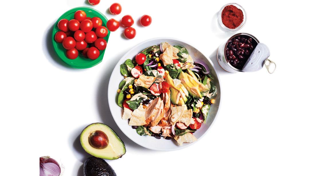 Recipe: How To Make Tex-Mex Chicken Taco Salad