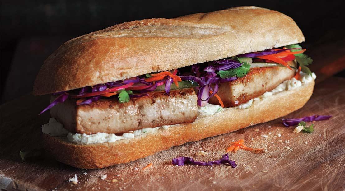 Recipe: How To Make Wasabi Tofu Sandwich
