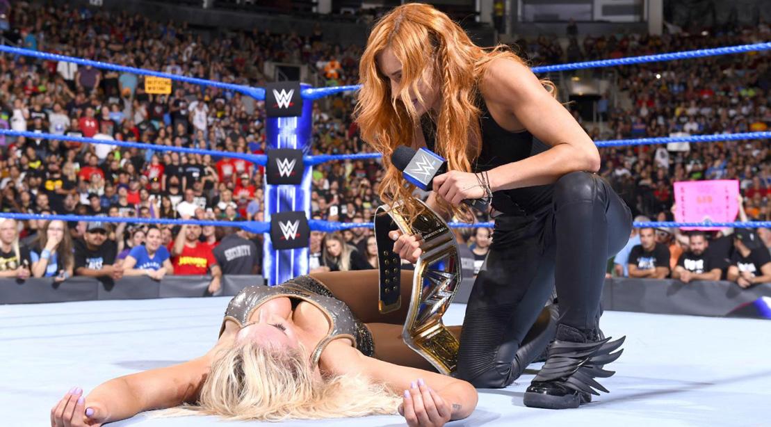 WWE 'Smackdown' Recap: Becky Lynch Demolishes Charlotte Flair