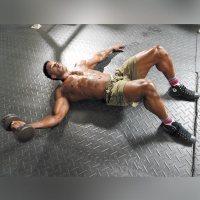 One-Arm Floor Chest Flye