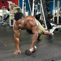 One-Arm Plank To Row