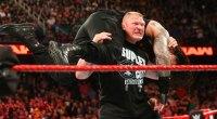 'Raw' Recap: Brock Lesnar Destroys a Blinded Roman Reigns, Dean Ambrose Returns