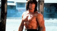 Sylvester Stallone in a scene from the film 'Rambo III', 1988.