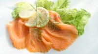 Smoked Salmon Cucumber Lettuce Wraps