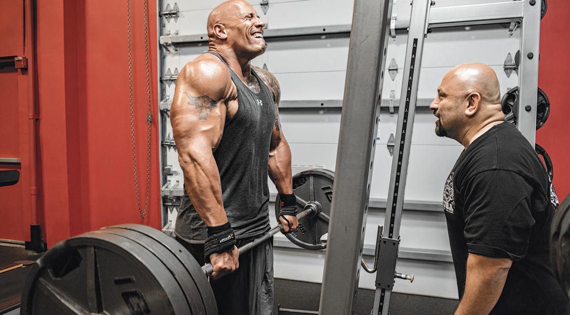Dwayne 'The Rock' Johnson's 4-Week Plan for a Herculean Physique