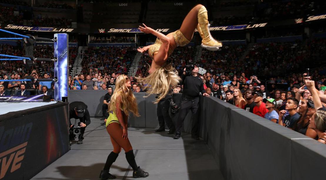 WWE 'Smackdown' Recap: Charlotte Flair Returns, Gets Title Shot at 'Summerslam'