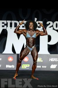 Tomefafa Ameko - Women's Physique - 2018 Olympia
