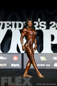 Mayla Ash - Women's Physique - 2018 Olympia