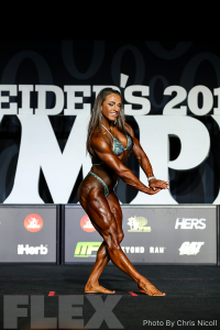 Alyssa Coppolino - Women's Physique - 2018 Olympia