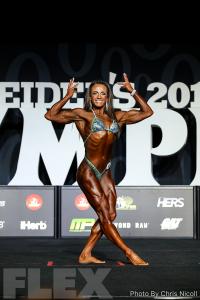 Alyssa Coppolino - Women's Physique - 2018 Olympia