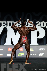 Antoinette Downie - Women's Physique - 2018 Olympia