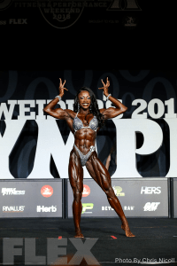 Shanique Grant - Women's Physique - 2018 Olympia