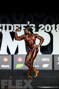 Sheronica Henton - Women's Physique - 2018 Olympia