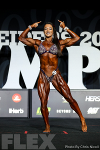 Valentina Mishina - Women's Physique - 2018 Olympia