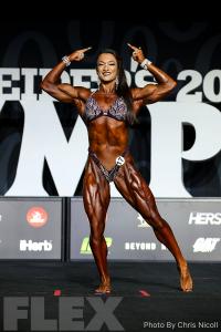 Valentina Mishina - Women's Physique - 2018 Olympia