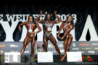 Final Posedown & Awards - Women's Physique - 2018 Olympia