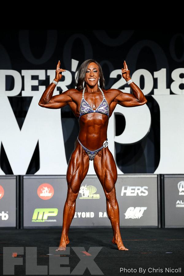 Sarah Villegas - Women's Physique - 2018 Olympia