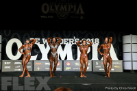 Comparisons - Women's Physique - 2018 Olympia